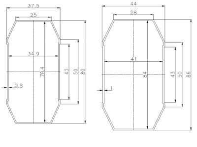 Plot - ZKTECO YC45M - Brazo Telescópico 4.5 metros para Barrera CMP200